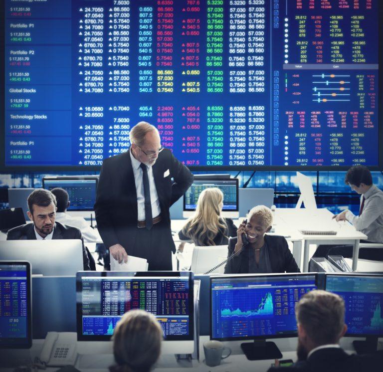 Stocks Trading Floor