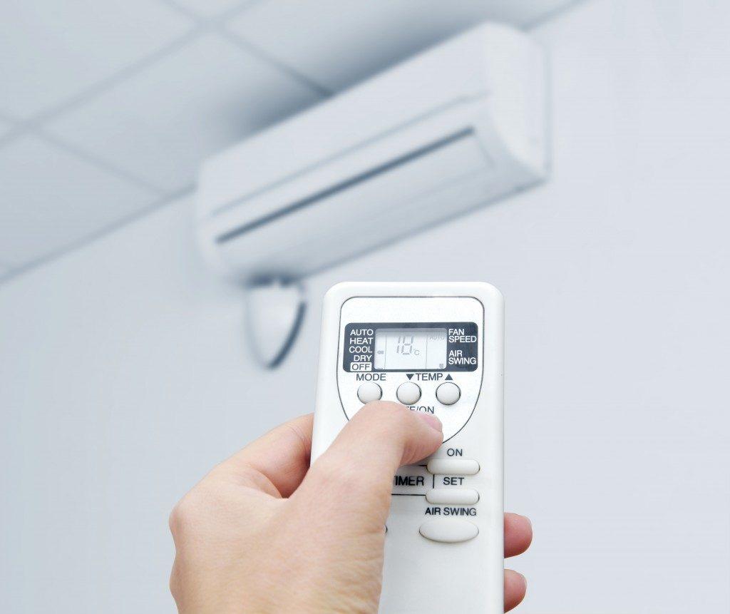 remote controlling the AC unit