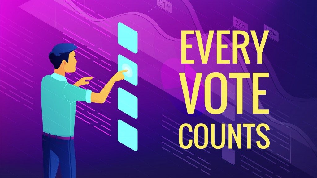 every vote counts ad