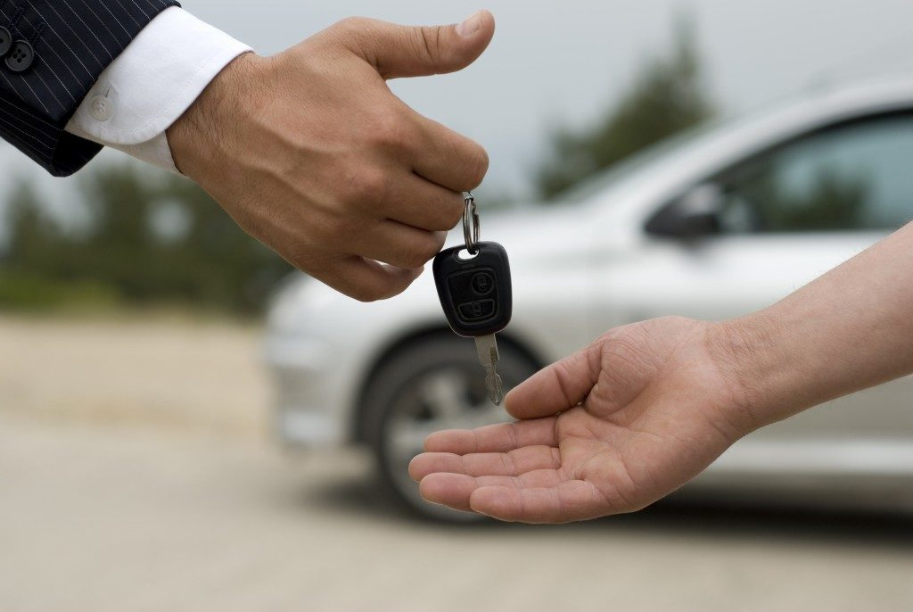 Reselling a car