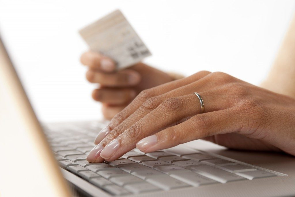 using credit card for online purchase