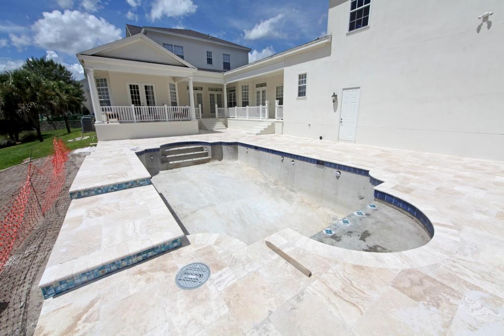swimming pool setup
