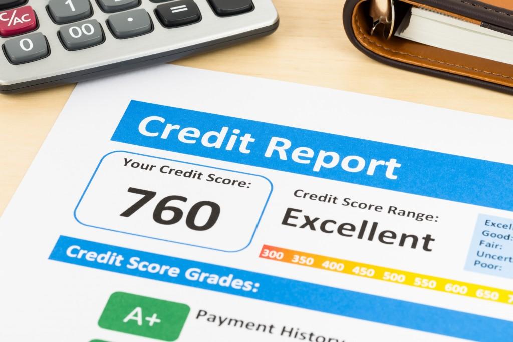 Credit report form