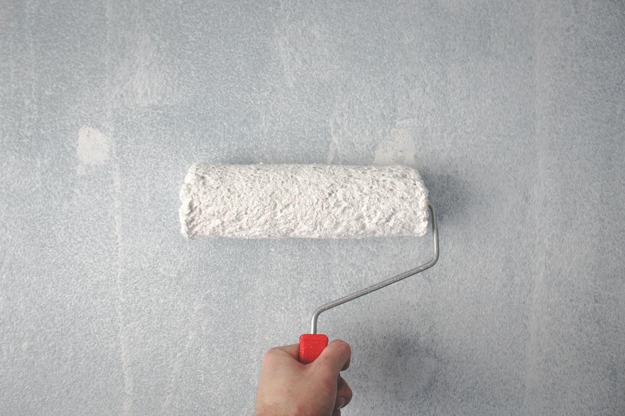 paint roller - repainting