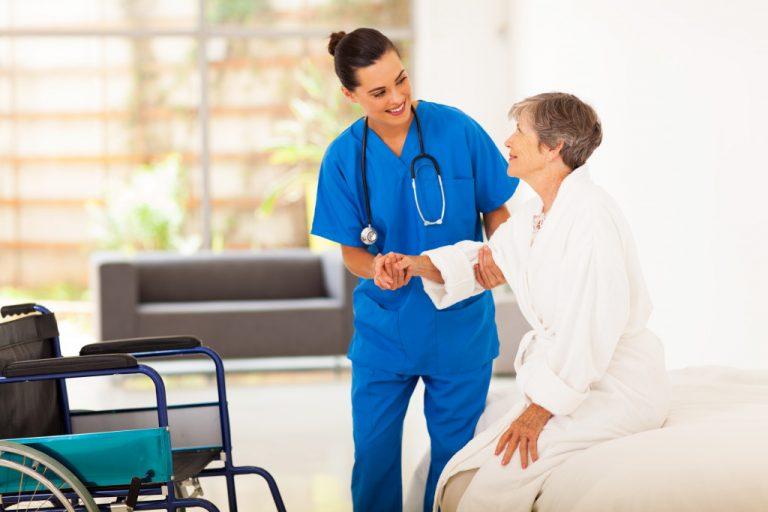 taking elders to checkup