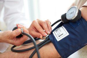 monitoring blood pressure